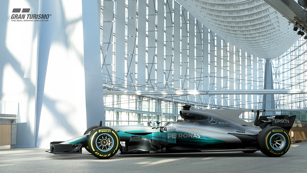 GT Sport: Lewis Hamilton's W07 F1 car