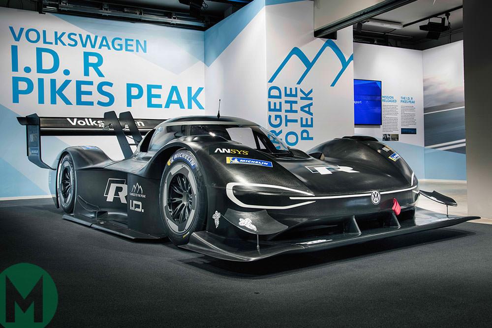 Volkswagen I.D. R Pikes Peak 2018 winner