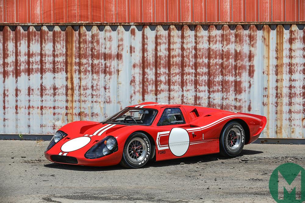 ex-Revson/Brabham 1967 Ford GT40
