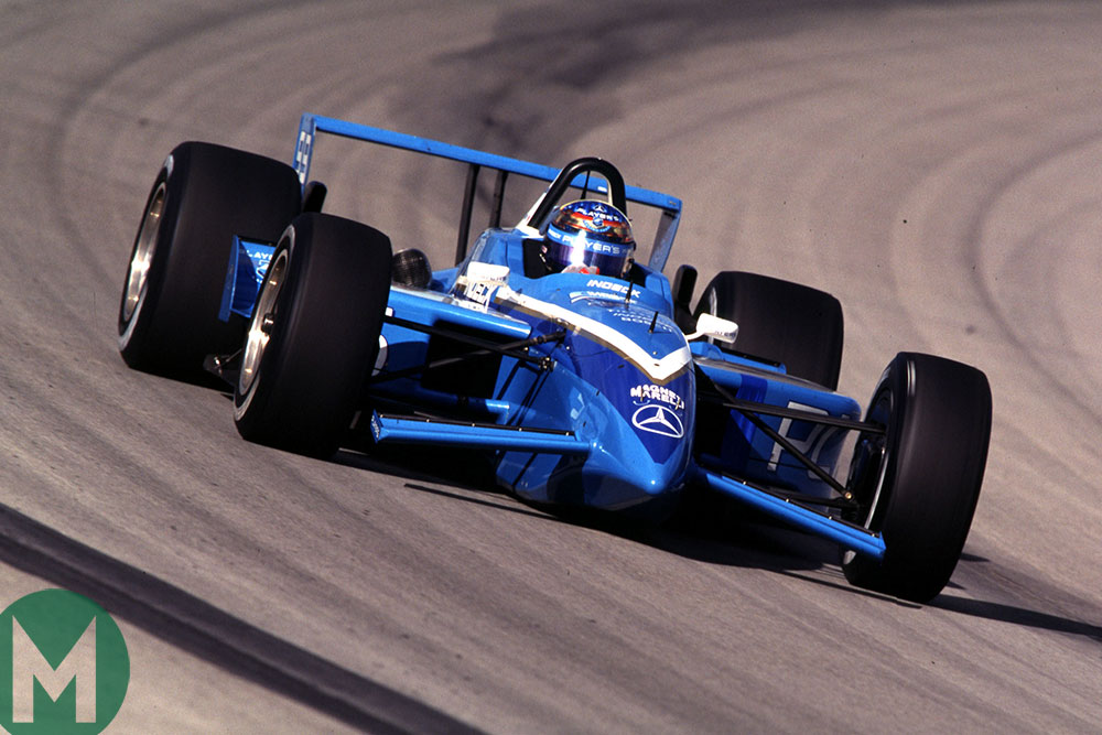 Greg Moore at Homestead in 1999 CART