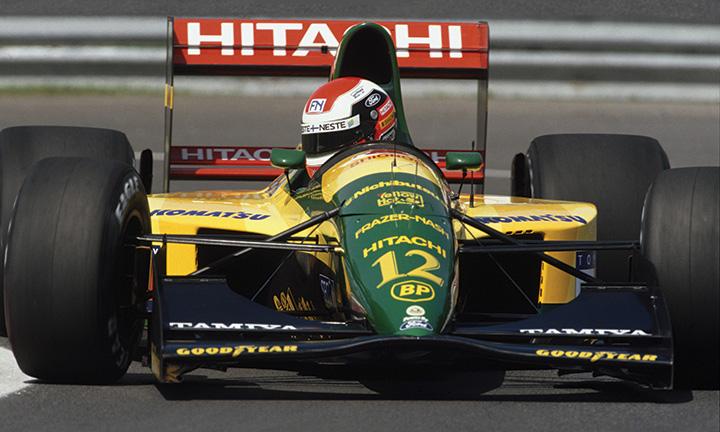 Great racing cars: 1992 Lotus 107 | Motor Sport Magazine