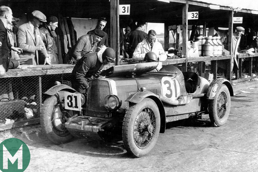 1931 Brooklands Double 12 Aston MArtin LM5