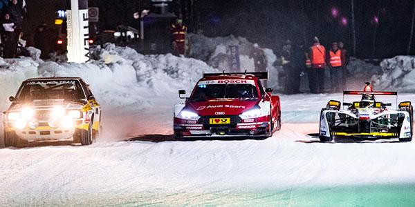 An ice racing extravaganza