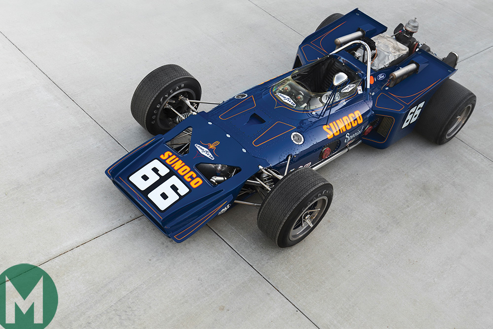 Lola T153 'Sunoco Special' Sotheby's