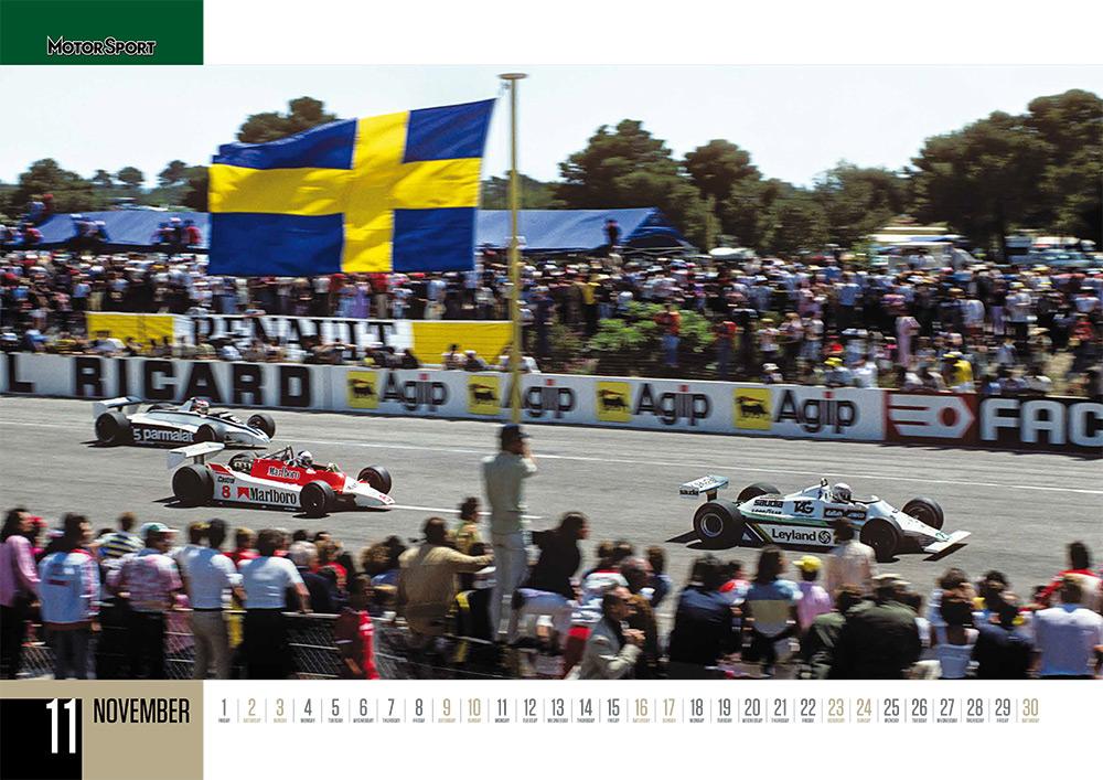November 2019 Motor Sport calendar