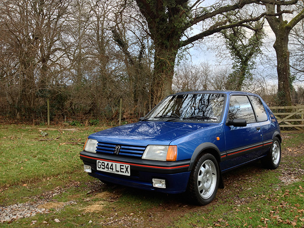 Why i bought a peugeot 205 gti motor sport magazine for Housse 205 gti