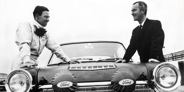 Jim Clarks 1966 RAC Rally