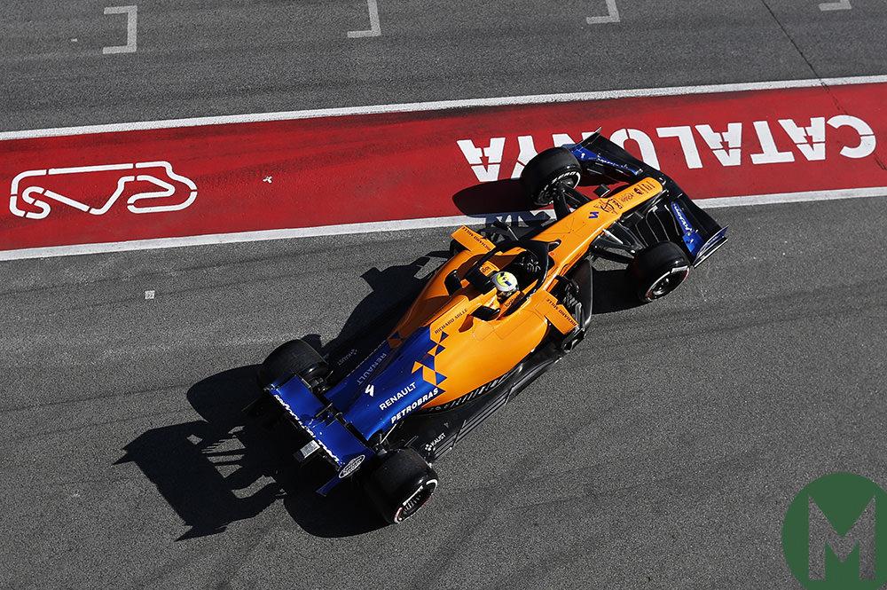 McLaren's Norris fastest in second F1 test