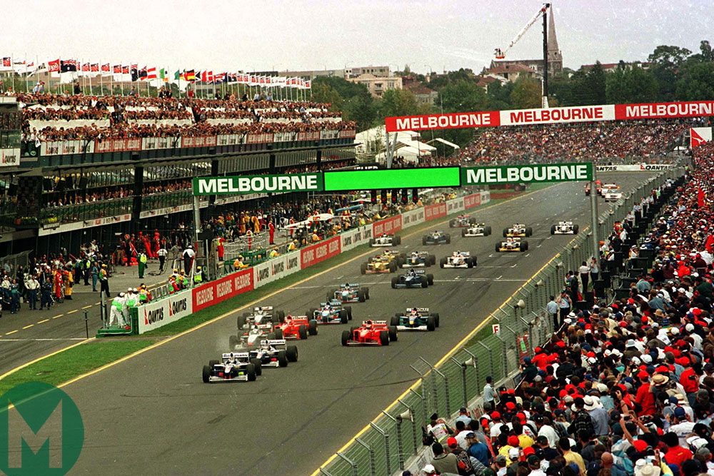 The Australian Grand Prix that didn't go to form