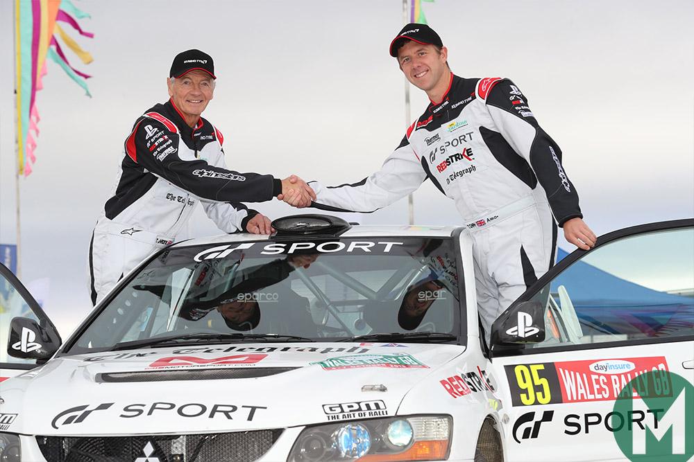 Tony Jardine and Tom Cary, Wales Rally GB 2018
