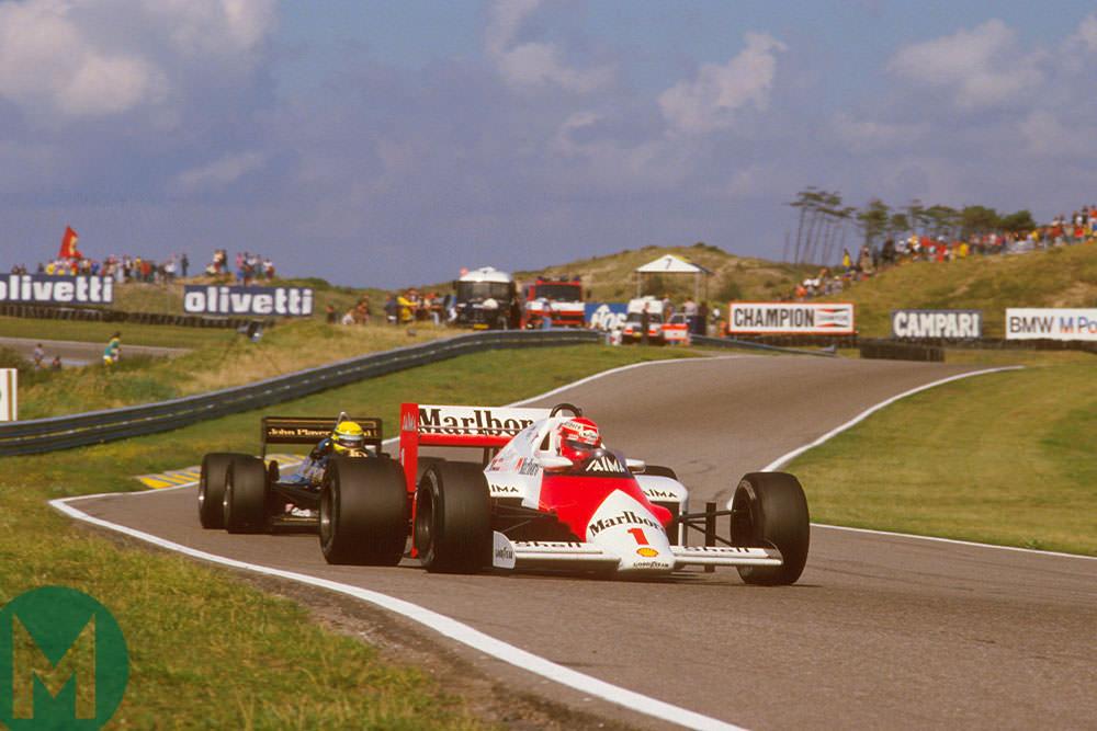 Niki Lauda F1 Dutch Grand PRix